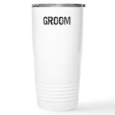 Just Married Travel Coffee Mug