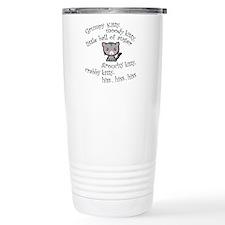 Grumpy Kitty Travel Mug
