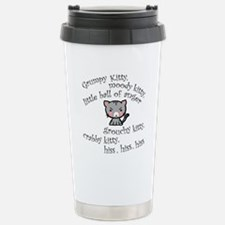 Grumpy Kitty Travel Mug
