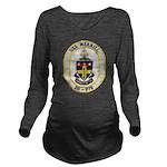 USS MERRILL Long Sleeve Maternity T-Shirt