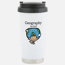 Geography is Cool Travel Mug