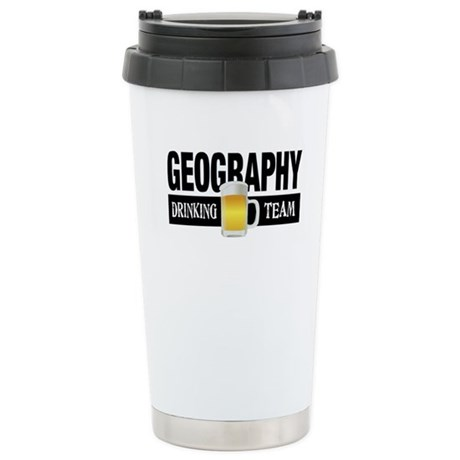 Geography Drinking Team Stainless Steel Travel Mug