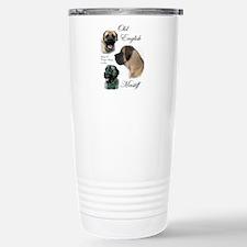 English Mastiff Stainless Steel Travel Mug
