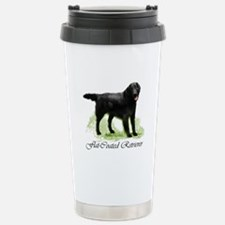 Flat-Coated Retriever Stainless Steel Travel Mug