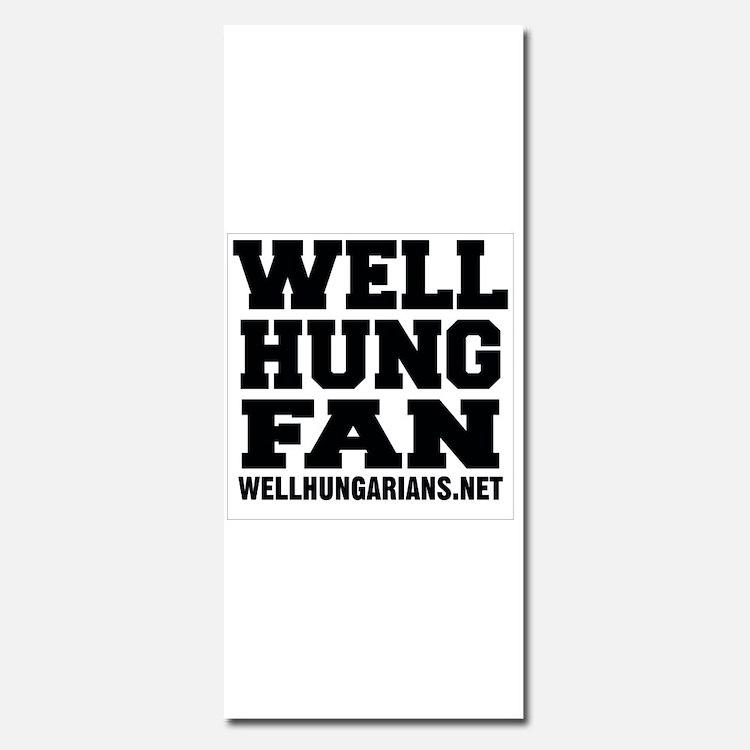 Well Hung Fan Invitations