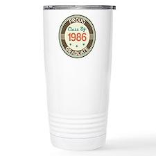 Vintage Class of 1986 Travel Mug