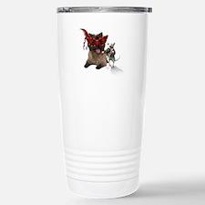Cairn Terrer Rat Ball Travel Mug