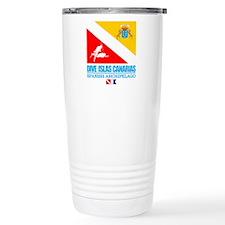 Dive Islas Canarias Travel Coffee Mug