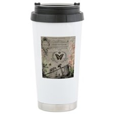 Vintage French Watering can Travel Mug