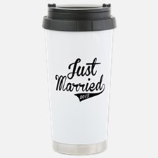 Just Married 2013 Stainless Steel Travel Mug