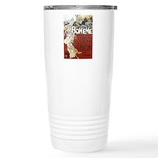 La Boheme Stainless Steel Travel Mug