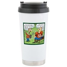 Fantasy Football Cartoon Travel Mug