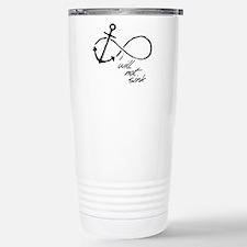 Infinity Anchor - refuse to sink Travel Mug