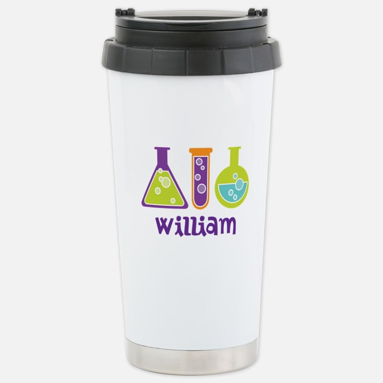 Personalized Scientist Stainless Steel Travel Mug
