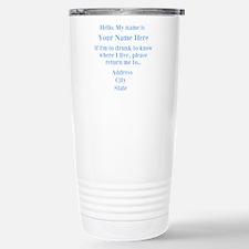 Drinking Shirt Travel Mug
