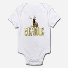 Elkaholic gear and gifts  Infant Bodysuit