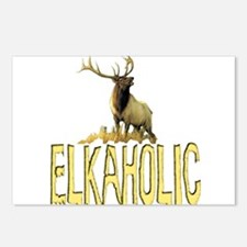 Elkaholic gear and gifts  Postcards (Package of 8)