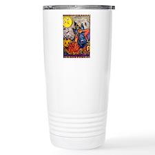 Halloween Scottish Terr Travel Mug