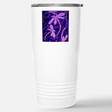 Dragonfly Disco Stainless Steel Travel Mug