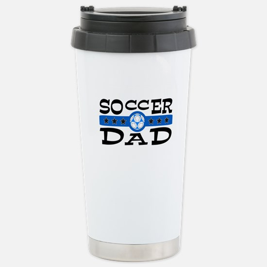 soccer dad.png Stainless Steel Travel Mug