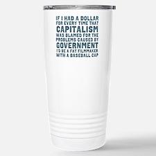 Blaming Capitalism Stainless Steel Travel Mug