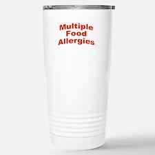 Multiple Food Allergies Travel Mug