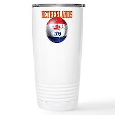 Netherlands Football Travel Mug