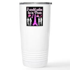 PARIS GIRL Travel Coffee Mug