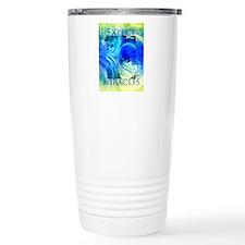 Expect Miracles Art Thermos Mug