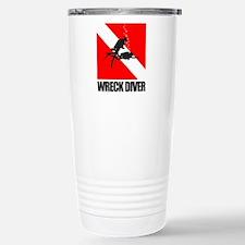 Wreck Diver (blk) Travel Mug