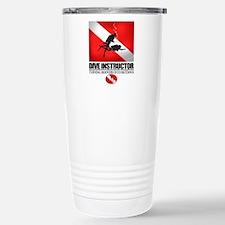 Dive Instructor 2 (back)(black) Travel Mug