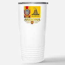 Arizona Gadsden Flag Stainless Steel Travel Mug