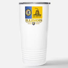 Illinois Gadsden Flag Travel Mug