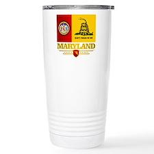 Maryland Gadsden Flag Travel Mug