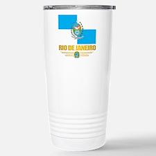 Rio De Janeiro Flag (state) Travel Mug