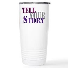 Tell your story Travel Mug