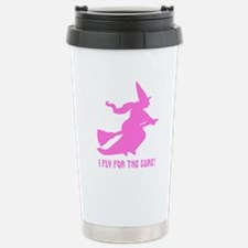 Fly for the Cure Travel Mug