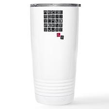 alphabet2 Travel Mug