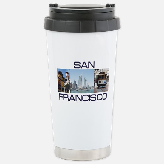 ABH San Francisco Stainless Steel Travel Mug