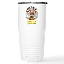 Praha (Prague)2 COA.png Travel Mug