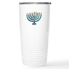 Menorah Travel Mug