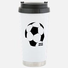 Personalized Soccer Travel Mug