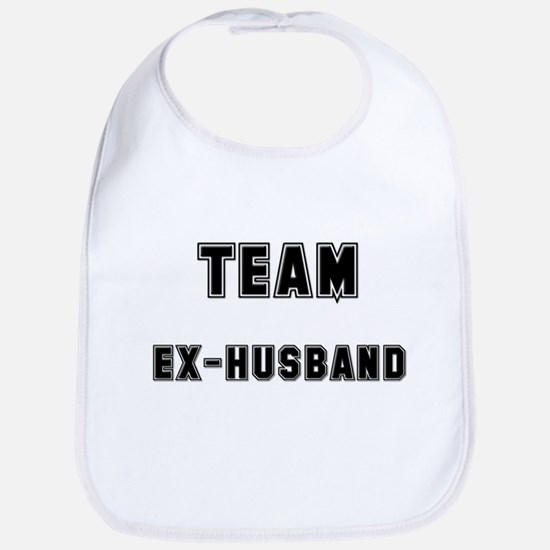 TEAM EX-HUSBAND Bib