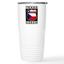 Texas Czech American Thermos Mug