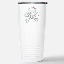 Cutie Skull 1 Stainless Steel Travel Mug