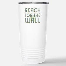 Swim Slogan Stainless Steel Travel Mug