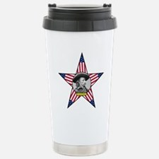 George Armstrong Custer Stainless Steel Travel Mug