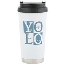 YOLO Square Travel Mug