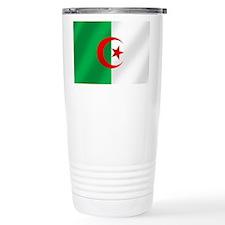 Flag of Algeria Travel Mug