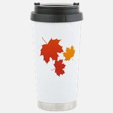 Autumn Leaves Stainless Steel Travel Mug